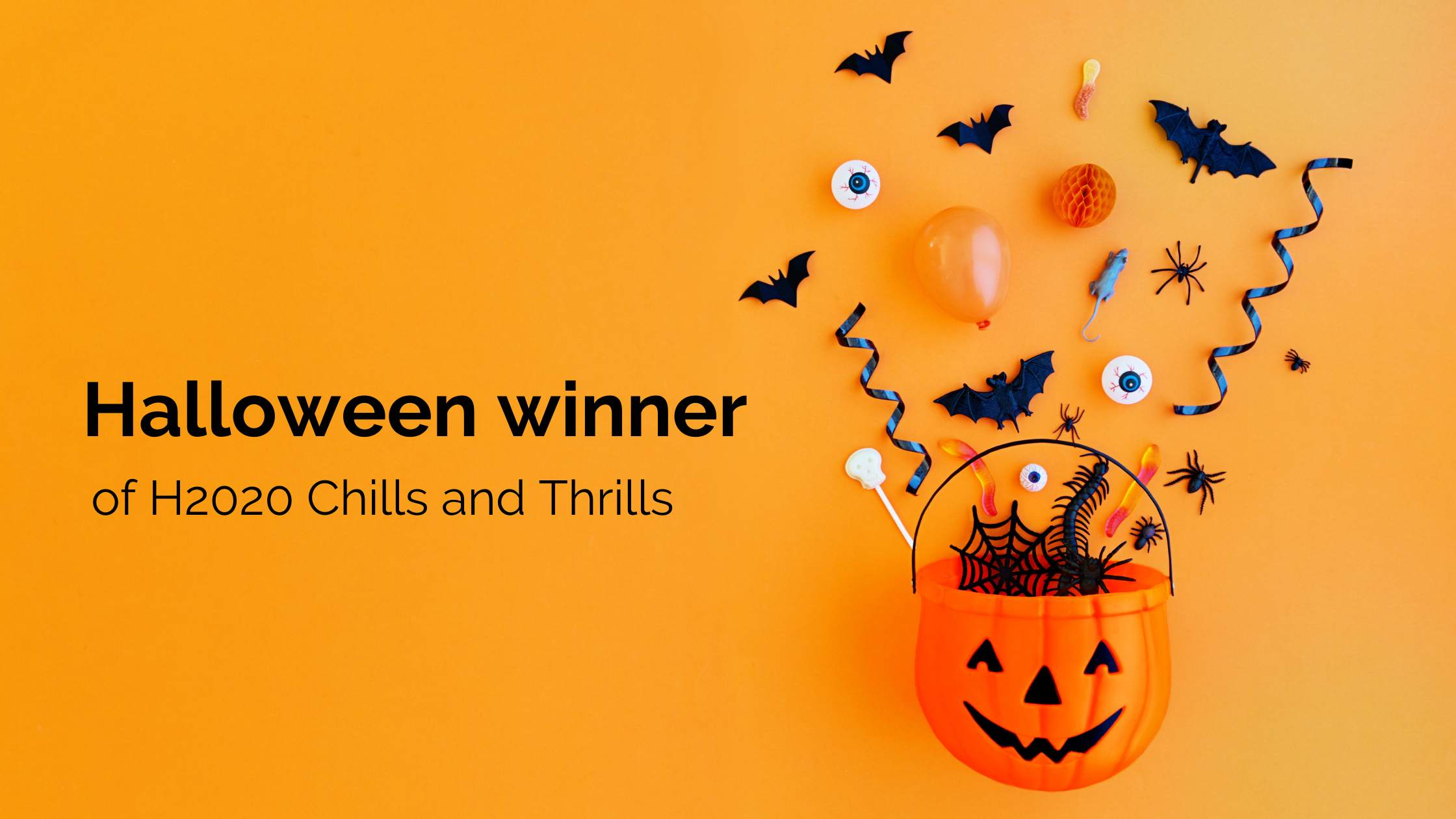 Meet the winner of our Halloween competition 🎃