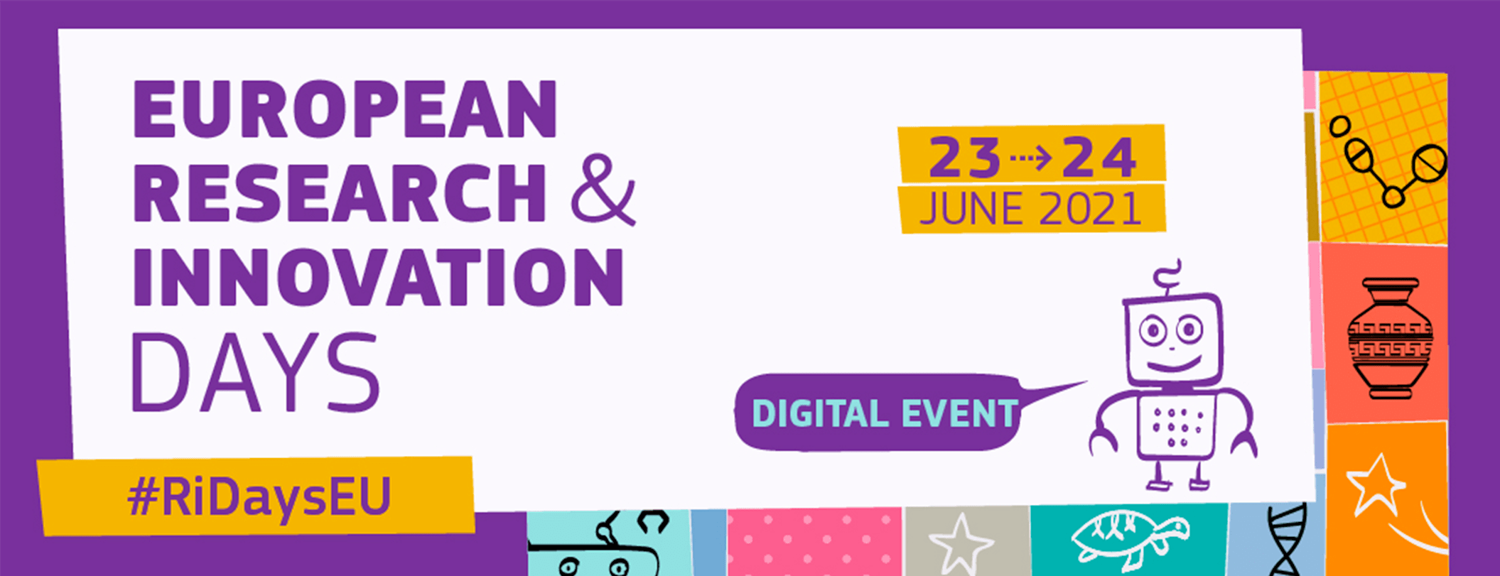European Research and Innovations days: 23-24 June 2021