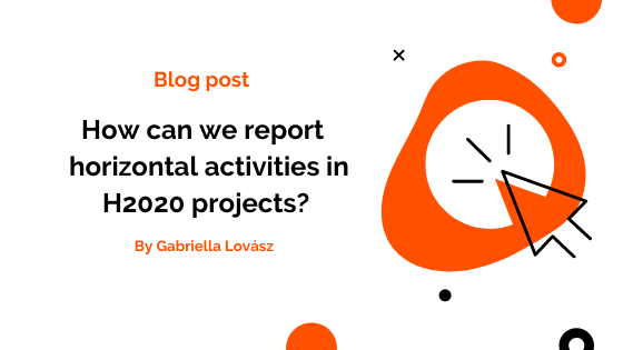 How to report horizontal activities in a H2020 project?