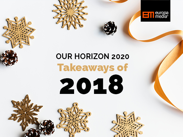 Our Horizon 2020 takeaways of 2018