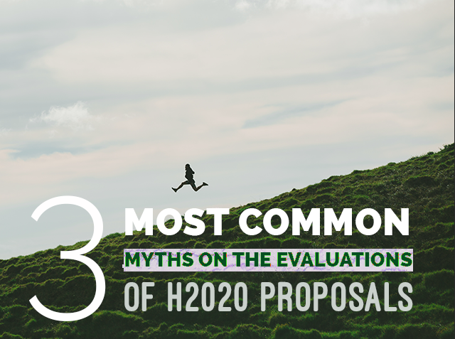 The three most common myths on the evaluation of Horizon 2020 proposals