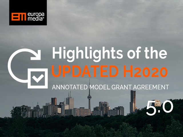Highlights of the UPDATED H2020 AMGA