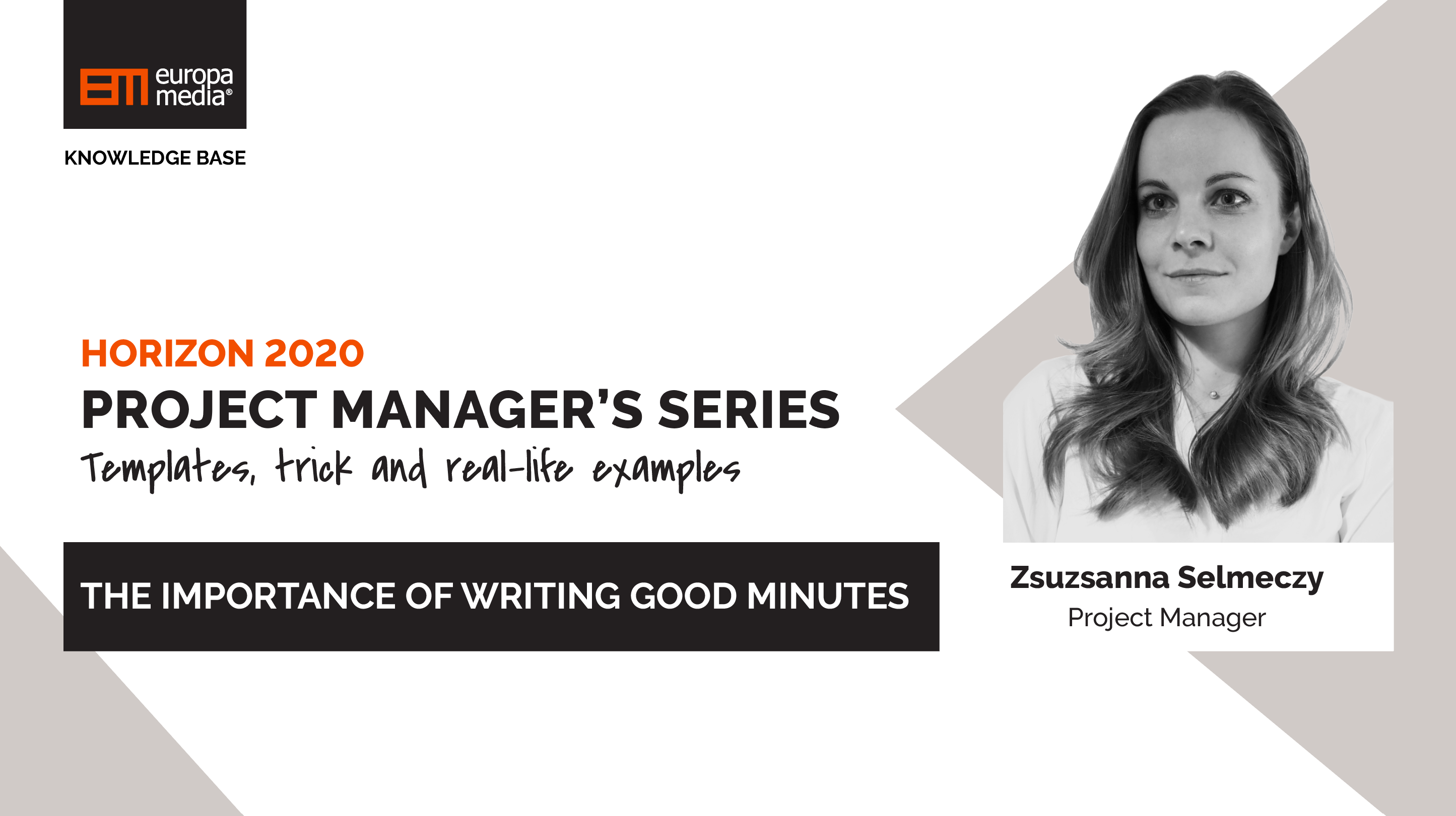 The importance of writing good minutes