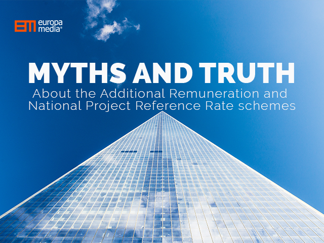 Myths and Truth about the Additional Remuneration and National Project Reference Rate schemes