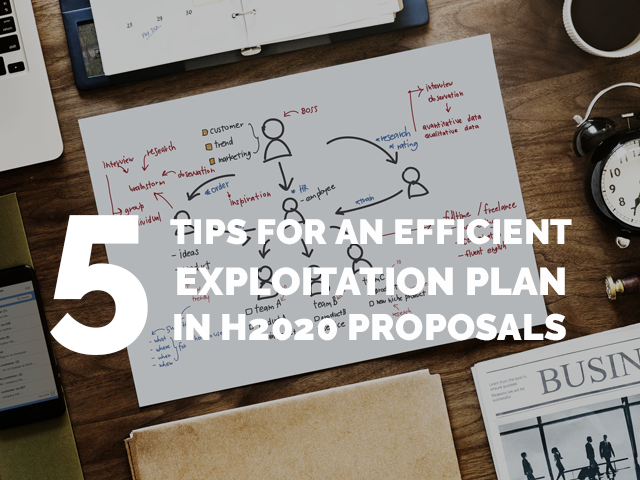 5 Tips for an efficient Exploitation plan in H2020 proposals