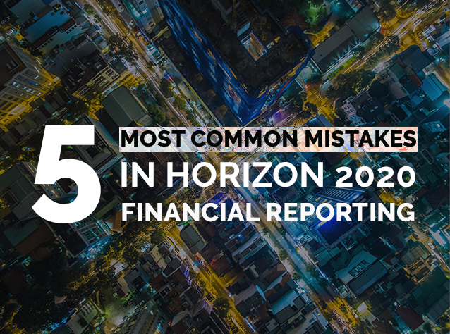 5 most common mistakes in H2020 Financial Reporting