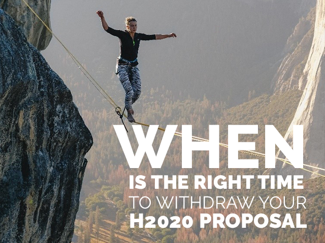 When is the right time to withdraw your proposal?